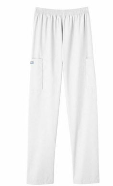 6fd1c7ff53b Details about Cherokee Scrubs Pants Women Cargo Pocket Pull on Elastic  Waist 4200 Petite Tall