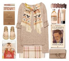 """""""Closer"""" by doga1 ❤ liked on Polyvore featuring MARC CAIN, MANGO, STELLA McCARTNEY, Chloé, Dogeared, Charlotte Tilbury, Bobbi Brown Cosmetics, Urban Decay and Too Faced Cosmetics"""