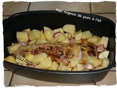 Filet mignon de porc à l'ail