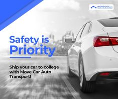 Relocating to college across states is a challenging and tiresome task. However, there is no need to hassle, Move Car Auto Transport will help you move your car to campus and send it back home safely #SafeCarShipping #InstantShipping #OnlineAutoDelivery #movecar #CarShippingCost #autotransportcarriers #autotransport #carshipping Move Car, Priorities, Transportation, Safety, College, Cars, Security Guard, University, Autos