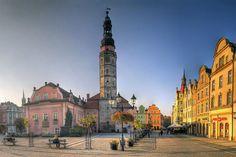 Town hall, Bolesławiec, Poland by Krzysztof Jasiak, via Flickr