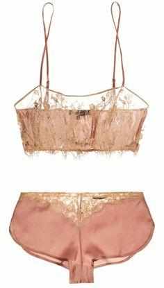 "Kiki de Montparnasse | ""Le Reve"" silk satin &..."