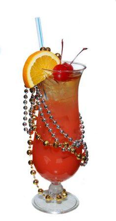 Mardi Gras Drink Recipes: 5 Great Ideas!     New Orleans Hurricane