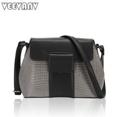 2017 New Spring Fashion PU Lizard Messenger Women Bags Crossbody Bag All-match Simple Shell Fashion Women's Single Bags Hot Sale