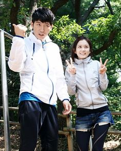 """Fated to Love You"": Jang Hyuk & Jang Nara Are A Workout Couple 
