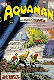 Cover art by Nick Cardy. The Plot to Steal the Seas, art by Nick Cardy; Aquaman and Aqualad find themselves stranded on an alien world. Titl e: Aquaman. Dc Comic Books, Comic Book Artists, Comic Book Covers, Comic Artist, Marvel Comics Superheroes, Fun Comics, Aquaman Comics, Anton, Superman