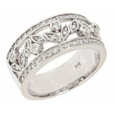 14k White Gold Diamond Wedding Anniversary Band Ring Antique Style (1/2cttw) ATR Jewelry,http://www.amazon.com/dp/B002VHH3I2/ref=cm_sw_r_pi_dp_wdSHsb1AH2MPWN10