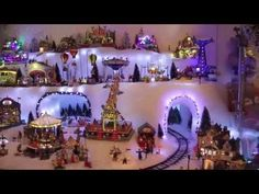 For as long as I can remember my Grandmother and Uncle set up a Christmas Village. Christmas Village Display, Christmas Village Houses, Christmas Town, Christmas Villages, Christmas Diy, Christmas Mantles, Silver Christmas, Victorian Christmas, Christmas Games
