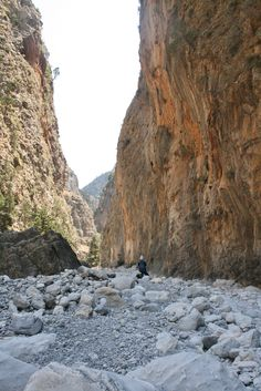 The Gorge of Samaria, Crete, Greece