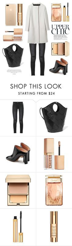 """Untitled #680"" by tenindvr ❤ liked on Polyvore featuring Anine Bing, Elizabeth and James, Maison Margiela, Gucci, Stila, Clarins, Cartier, Yves Saint Laurent and Sisley"