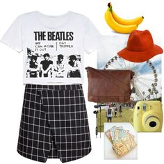 The Beatles by cornelia-poeschl on Polyvore featuring polyvore fashion style Frye Skullcandy RHYTHM