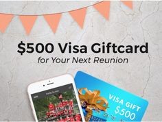 The Share-Your-Photos App is excited to announce a $500 giveaway open to all Reunions magazine Subscribers! The Reunions Coordinator with the most guests who enter the giveaway by December 31st, 2017 will win $500 for their next reunion! Share this giveaway with friends and family for more chances to win! The Reunion, Reunions, Giveaway, December, Magazine, App, Friends, Photos, Gifts