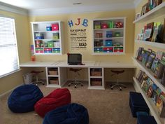 1000 images about home playroom home office on for Teenage playroom design ideas