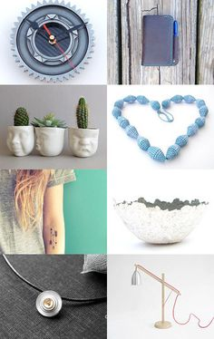 Handmade with love - Valentine gift ideas by BoulotDodo on #Etsy