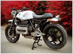 Scott Halbleib's BMW K100RT Scrambler - un beau mélange des | http://beautifulmotorbikesgallery.blogspot.com