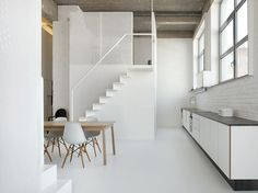 Brussels: adn architectures designs the interiors of Loft For - 2014 - Clark Malcolm