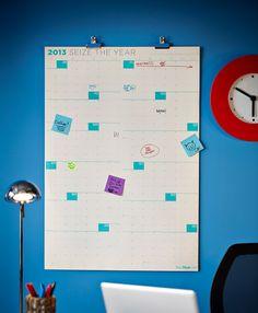 NeuYear wall calendar used