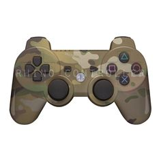 PS3 controller  Wireless Glossy  WTP-297-MultiCam Custom Painted- Without Mods