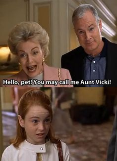"""The Parent Trap  """"Hello pet. You may call me Aunt Vicki."""" This is how Dr. Eastman should start next semester."""