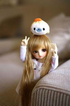 So cute girl Tiny Dolls, Blythe Dolls, Barbie Dolls, Ball Jointed Dolls, Pretty Dolls, Beautiful Dolls, Cute Baby Dolls, Kawaii Doll, Dream Doll