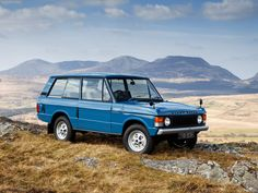 One of 26 cars nominated for Car of the Century. Range Rover was built by British car maker Land Rover from 1970 to 1996. It was assembled at Lode Lane, Solihull, England.