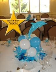 dolphin balloon centerpiece triad winston salem