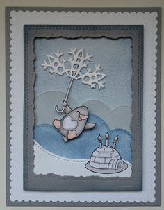 Birthday card for mamaelephant Challenge - STAMPWITHMEOctober2015
