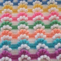 Pıtırcık Fiber Model Construction 2 Related posts:Zanini de Zanine holds first solo exhibition in Paris. Crochet Blanket Tutorial, Crochet Blanket Border, Crochet Pillow, Sewing Stitches, Crochet Stitches, Knitting Patterns, Crochet Bobble, Puff Stitch Crochet, Knitting