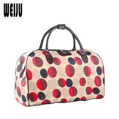 WEIJU Travel Bag Women New Casual Luggage Duffle Bags Large Capacity Men Travel Bags Ladies Shoulder Hand Bag