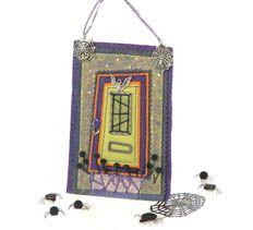 October Door of the Month > Creative Home Arts Club Art Club, Creative Home, Home Art, Stitching, October, Craft Ideas, Shoulder Bag, Doors, Embroidery