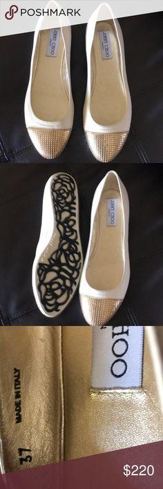 $200 Like new wear once Jimmy Choo Shoes Flats & Loafers