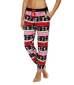 Peanuts Microfleece Long Pants #Dillards