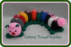 "Knit Colors ""Count""erpillar"