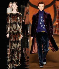 Paisley prints are the common thread - Etro   FALL 2012