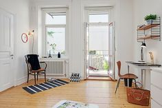 Scandinavian-style studio