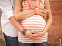 love them framing the belly together- so cute!