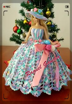 Crochet dolls 143200463140656778 - Crochet Clothes Doll Knit Patterns Ideas Source by Crochet Barbie Patterns, Crochet Doll Dress, Barbie Clothes Patterns, Crochet Barbie Clothes, Clothing Patterns, Dress Patterns, Knit Patterns, Crochet Ideas, Habit Barbie