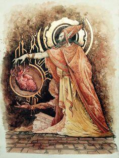 The Elder Scrolls Lore - The Dwemer Race concept art.