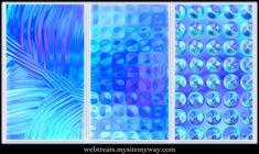 Glassy Blues Seamless Textures by WebTreatsETC.deviantart.com on @deviantART