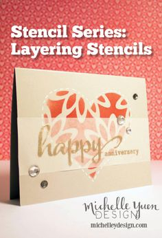Video: Stencil Series #4: Layering Stencils — Michelle Yuen Design