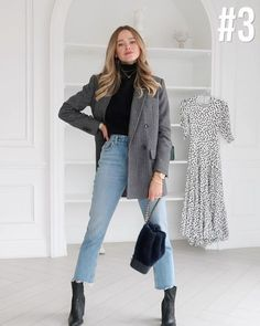 Cute Comfy Outfits, Casual Fall Outfits, Classy Outfits, Pretty Outfits, Classic Outfits For Women, Valeria Lipovetsky, Cute Fashion, Fashion Outfits, Semi Formal Outfits