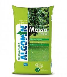 NOMINERAD TILL ÅRETS TRÄDGÅRDSPRODUKT 2014!  Med Algomin® Mossa stärker och gödslar du gräsmattan samtidigt som du torkar ut mossan. Algomin® Mossa är både miljövänligt och långtidsverkande, och eftersom det är en näring – inte ett gift – är den ofarlig för både barn och husdjur.  Med Algomin® Mossa hjälper du det naturliga kretsloppet på traven, och du får ett friskt och grönt gräs som konkurrerar ut mossan på naturlig väg!