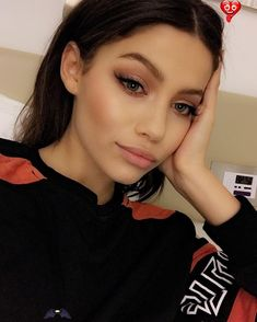 pinterest: lovesufirst ✽<br> Mauve Makeup, Contour Makeup, Eye Makeup, Hair Makeup, Beauty Make-up, Beauty Hacks, Hair Beauty, Make Up Looks, Natural Makeup For Teens