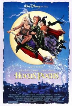 Hocus Pocus movie poster (1993) I still watch this almost every Halloween
