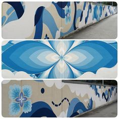 sasu lyri 4/2016 #kofu #kofumuralproject #68m #finished #arigato #kofucity #yamanashi  #paintonwall #freehandsymmetry #shellsleaves #mural #muralinjapan  #hitotzuki #sasu_lyri