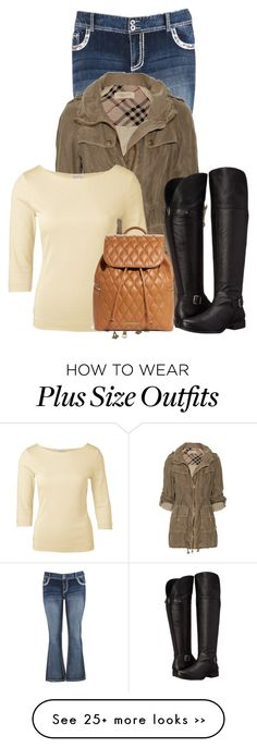 """""""Untitled #10670"""" by nanette-253 on Polyvore featuring maurices, Burberry, Naturalizer and Vera Bradley"""