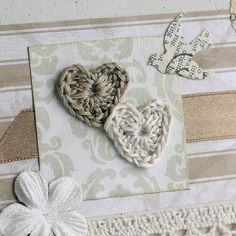 With a Grateful Prayer and a Thankful Heart: Tiny Crocheted Hearts