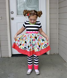 Mod Mermaid Dress by sherunslikeagirl on Etsy, $57.00