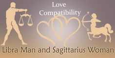 Love match compatibility between Libra man and Sagittarius woman. Read about the Libra male love relationship with Sagittarius female.
