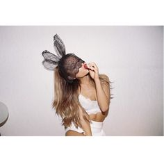 That time she dressed up like a sensual, but still super sweet rabbit. [19 Times Ariana Grande Was Basically An Adorable Animal]